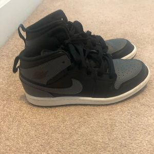 Air Jordan 1 Black/Gray